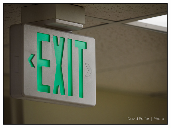 Another exit